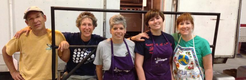 Members of '14 BK Kitchen Krew