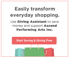 Shop and Support Ascend Performing Arts