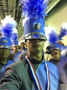 "Taking a ""selfie"" at the 2014 DCI World Championships"