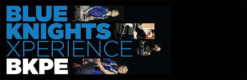 Click to view audition info for Blue Knights Percussion Ensemble