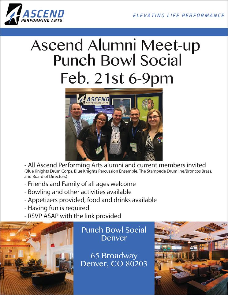 Alumni Meet Up Poster