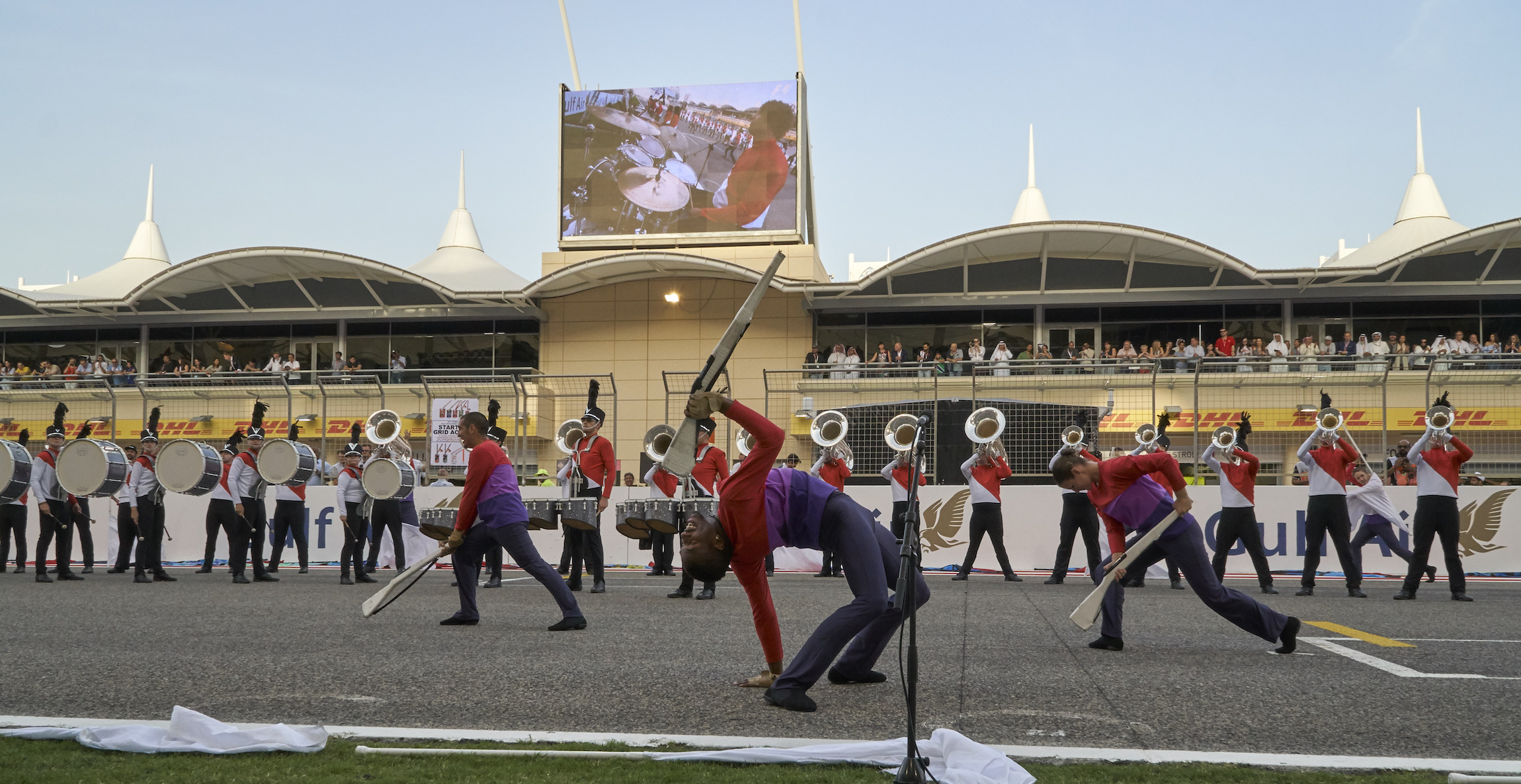 Blue Knights Bahrain Tour Featured In Drum Corps World